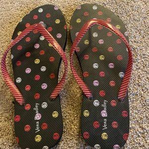 Vera Bradley Flip Flops- Never Worn